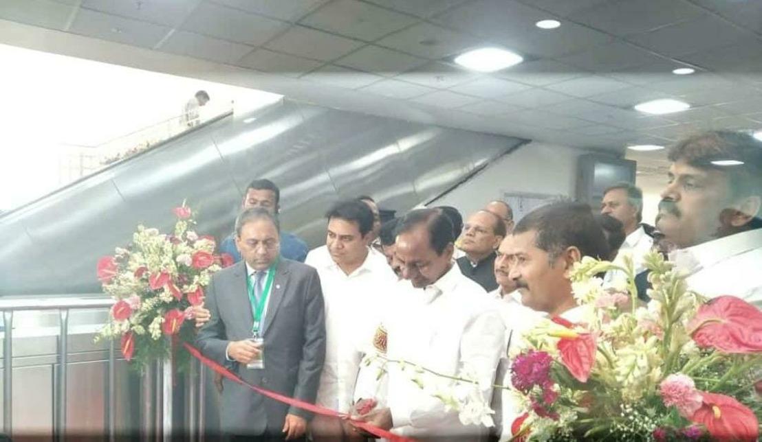 Le tronçon II du métro d'Hyderabad, reliant Hyderabadet Secunderabad, entre en exploitation grâce à Thales