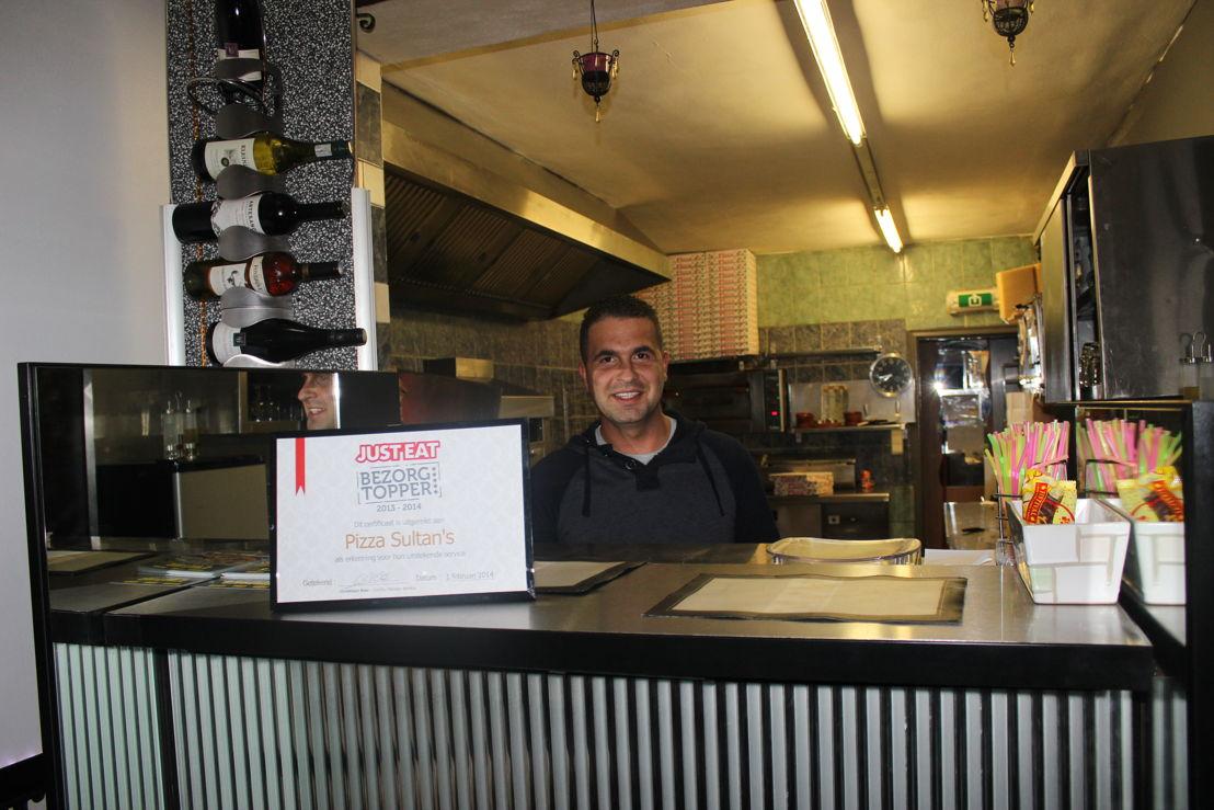 JUST-EAT.be BezorgTopper: Pizza Sultan's in Zandhoven