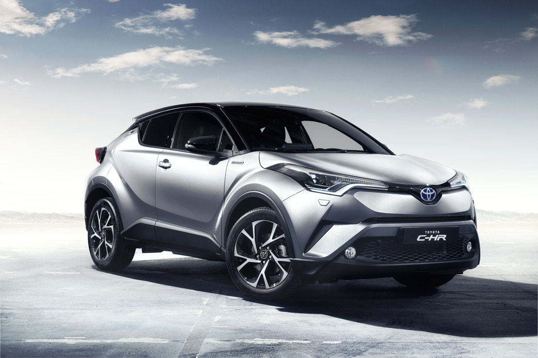 Le nouveau crossover Toyota C-HR lève le voile sur un design intérieur raffiné