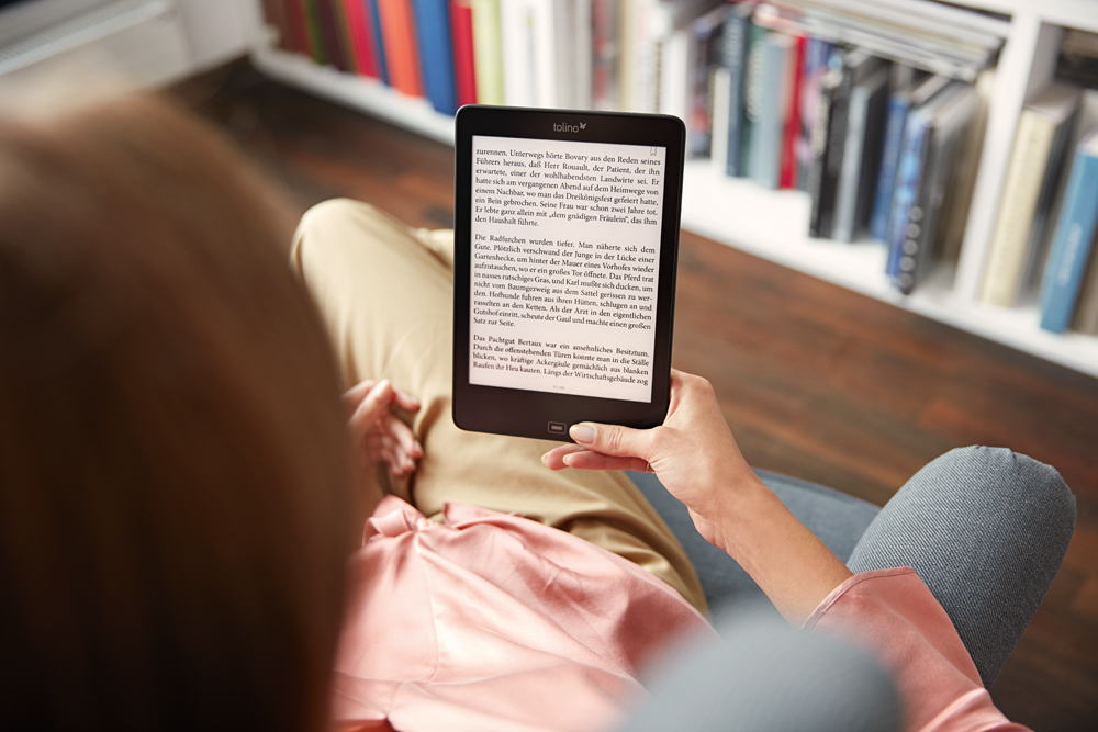 Seit Verkaufsstart des tolino wurden über 60 Millionen eBooks heruntergeladen.