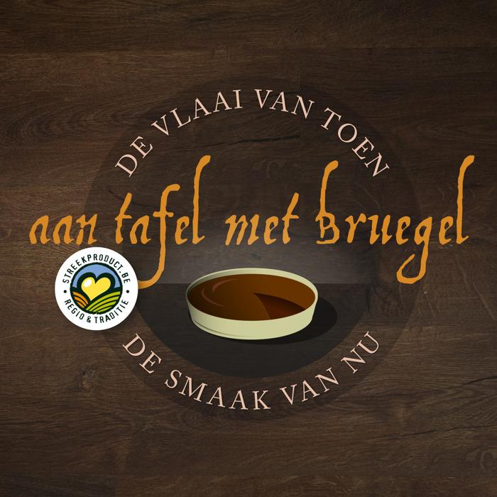 Streekproduct.be op zoek naar recept van de vlaai van Bruegel