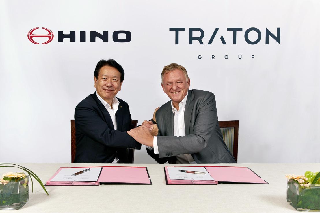 TRATON AG une fuerzas con Hino