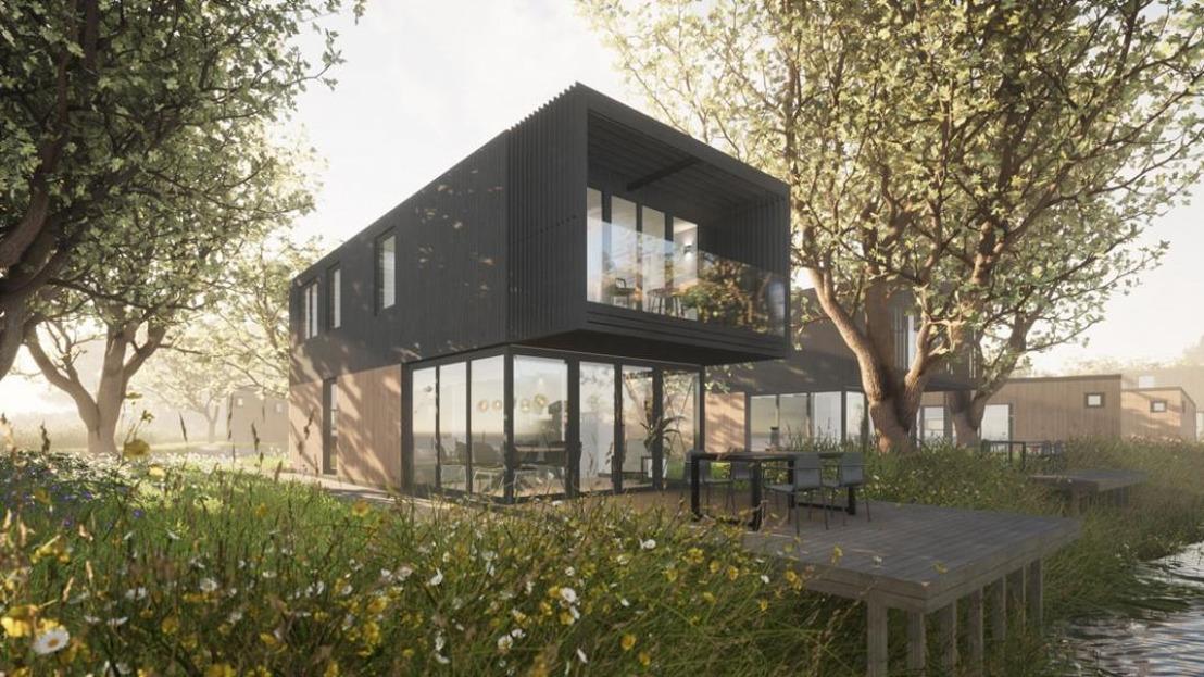 Roompot opent nieuw park aan Brielse Meer met kerst 2022
