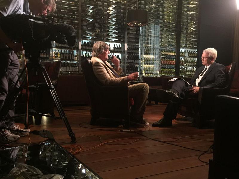 Stephen Fry & Tony Jones in Melbourne