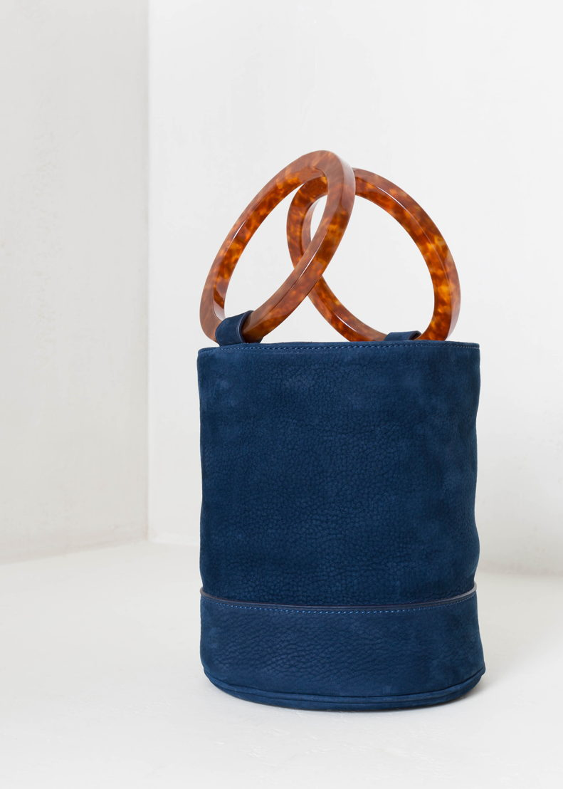 GR13 - Simon Miller - Bonsai Bag in smokey blue - 690 euro