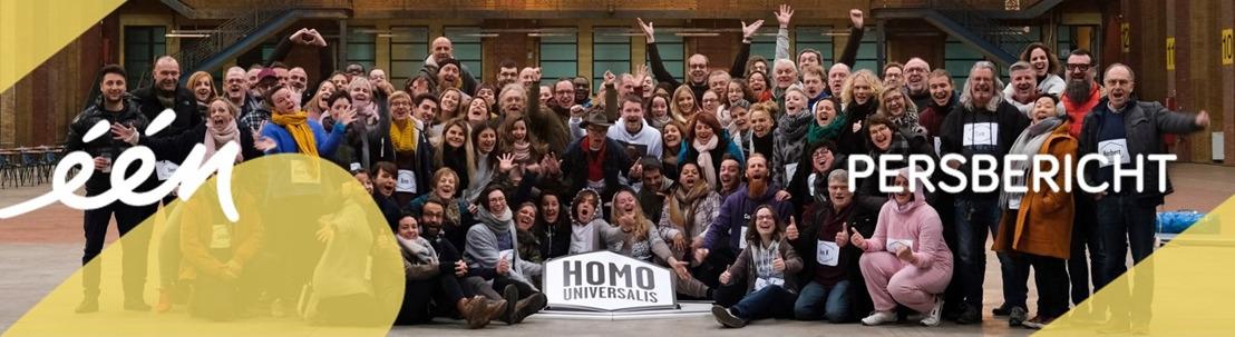 100 nieuwe mannen en vrouwen gaan uitdaging aan in 'Homo universalis' in Iedereen beroemd