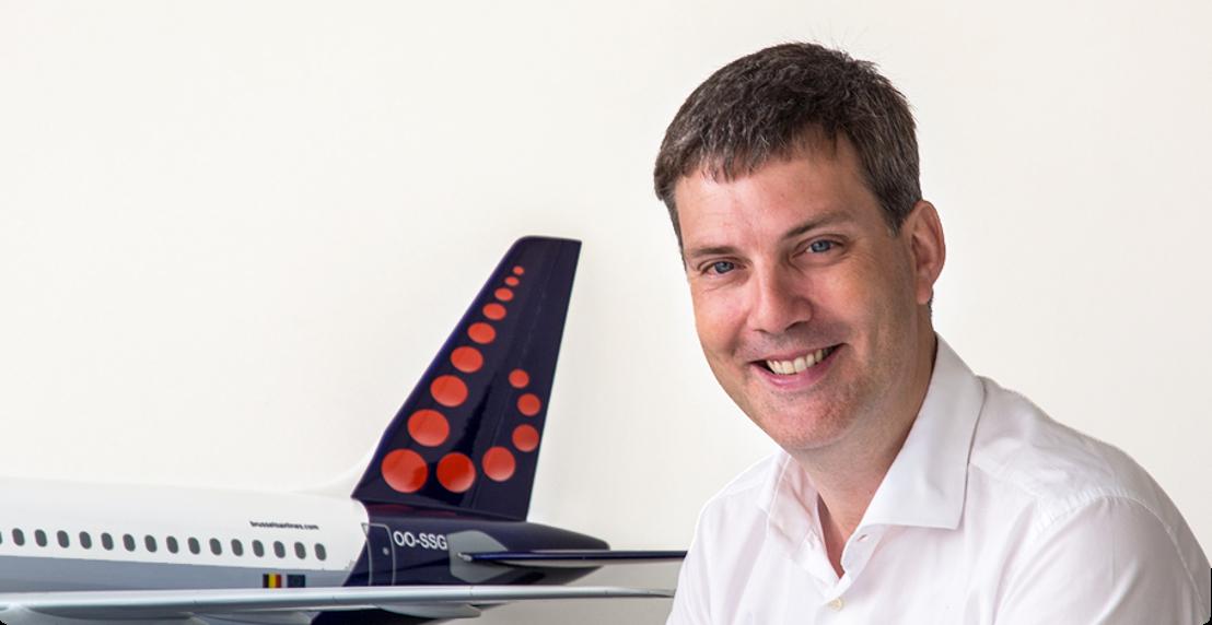 Tanguy Cartuyvels, nouveau VP Marketing de Brussels Airlines