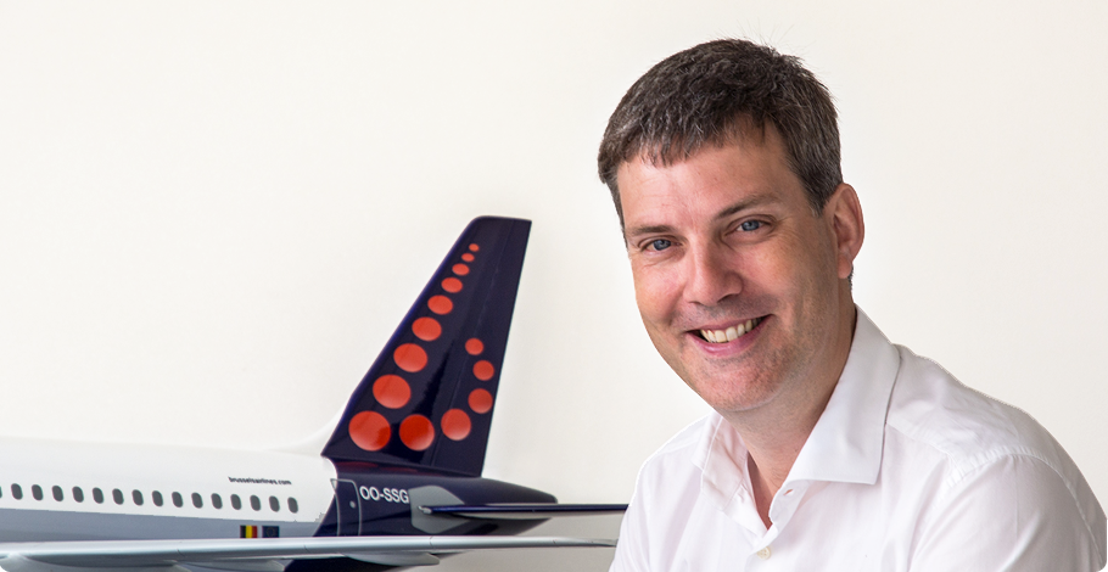 Tanguy Cartuyvels, nouveau VP Marketing de Brussels Airlines