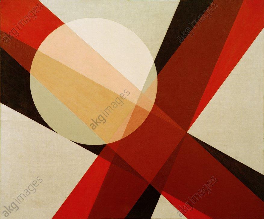 """""""A 19"""", 1927, by Lászlo Moholy-Nagy<br/>AKG587724"""