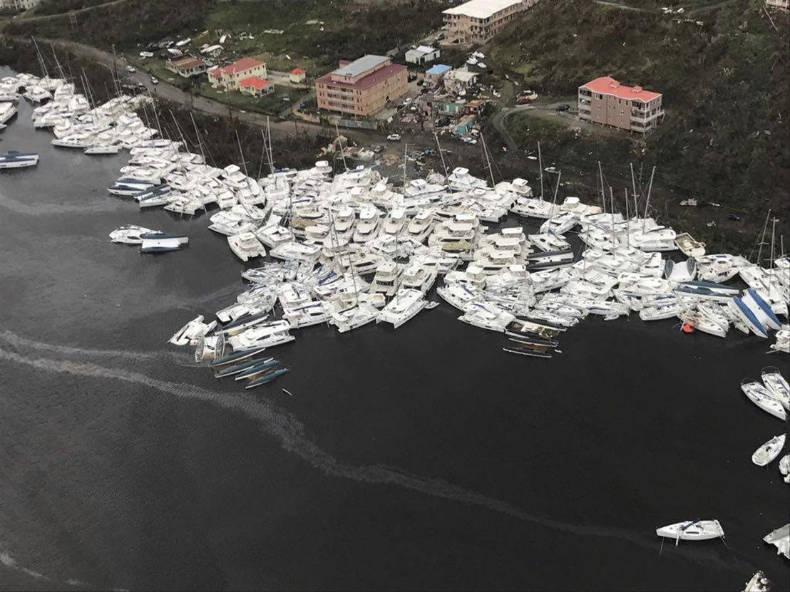 Barbuda Devastated after hurricane Irma. © Denver Post