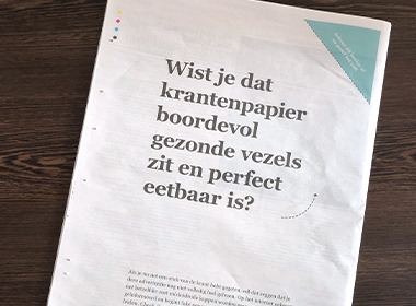 Gezondheid en Wetenschap and DDB get their teeth into fake news