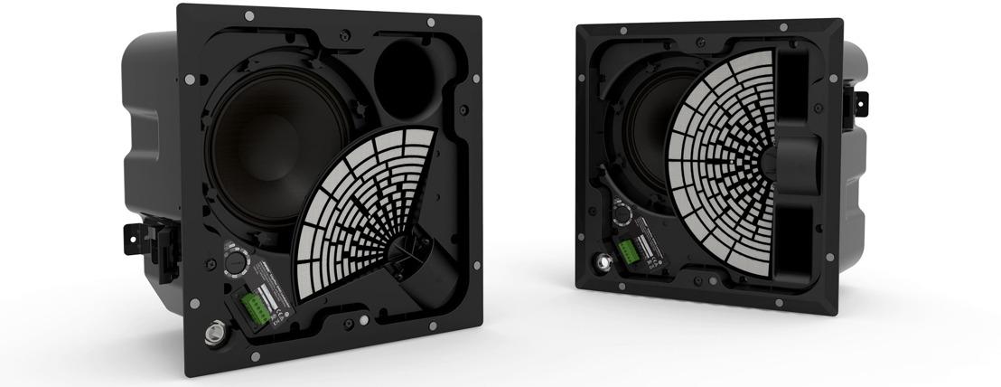Innovadores altavoces premium EdgeMax™ para montaje a techo con tecnología PhaseGuide® de Bose Profesional