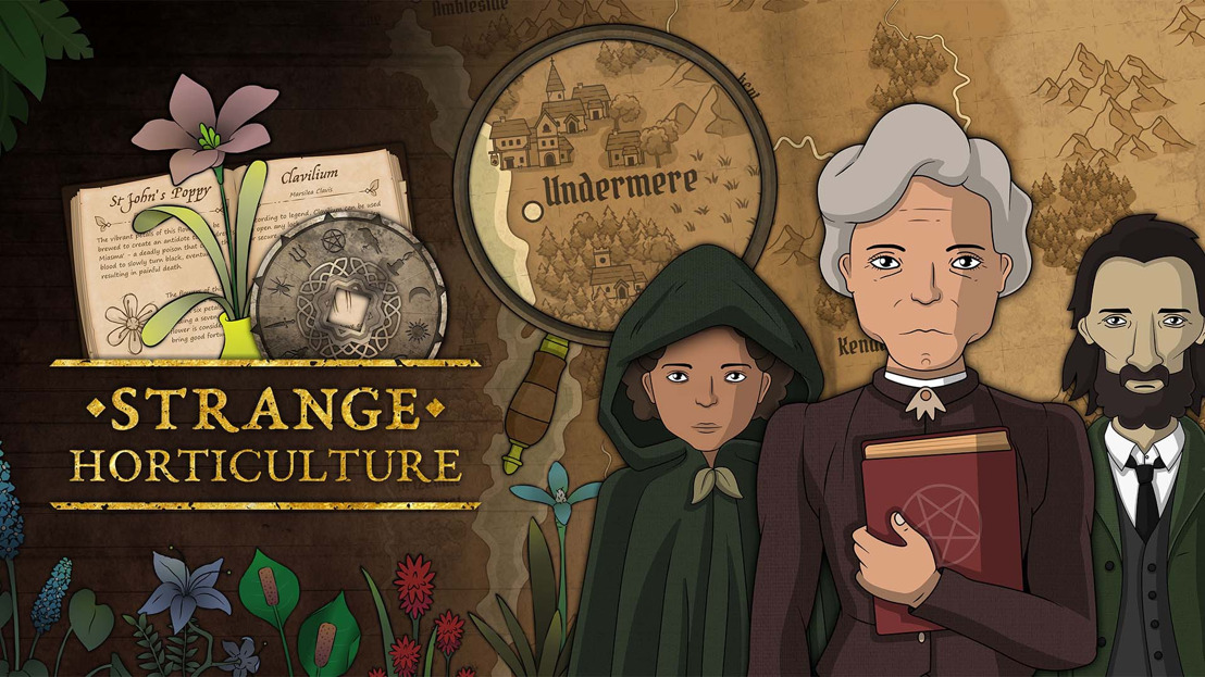 New Trailer for Strange Horticulture - Plant-Based Occult Mystery Coming to PC in 2022!