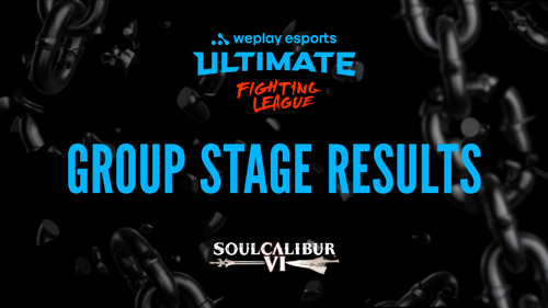 Результаты группового этапа WePlay Ultimate Fighting League Season 1 по SOULCALIBUR VI