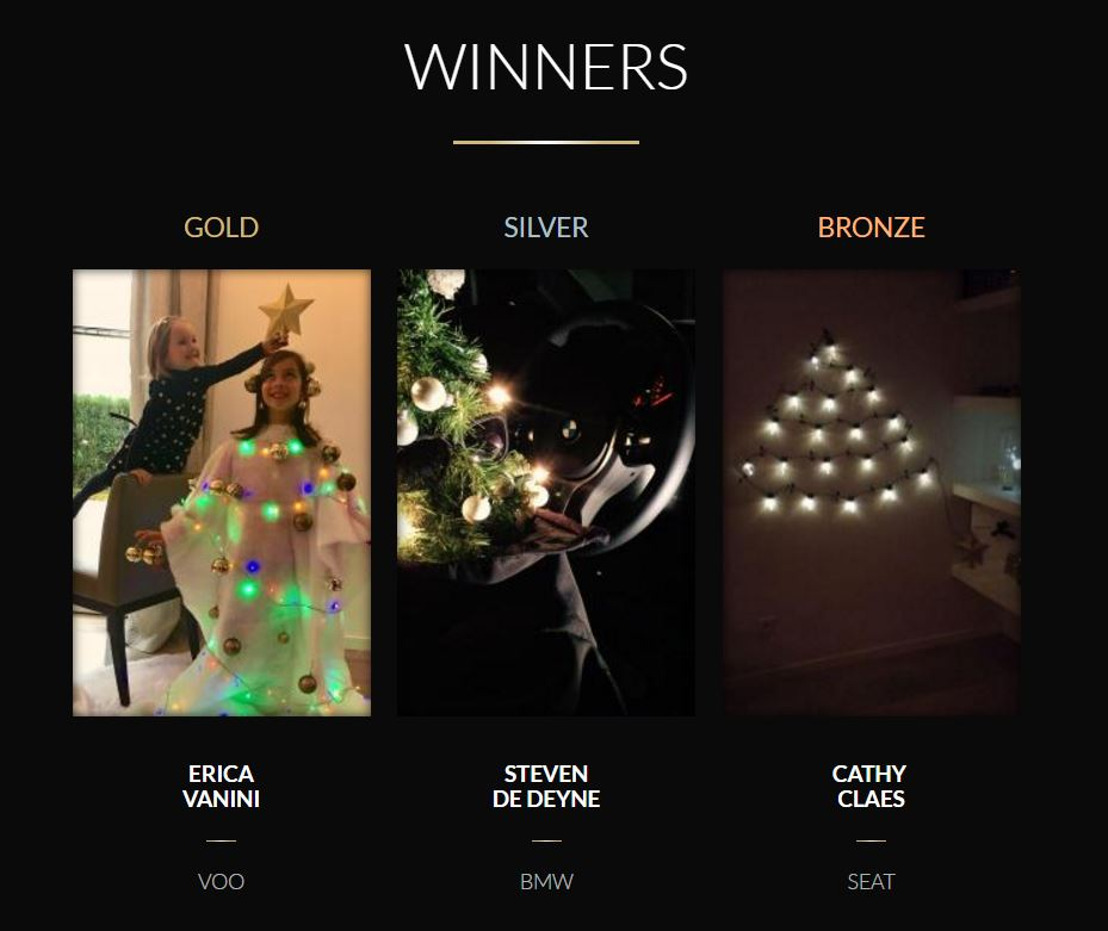 Air presenteert The Clients Christmas Tree Decoration Awards.