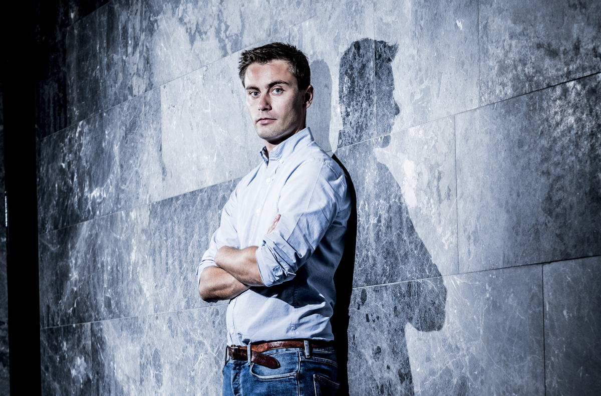 Nicolas Deruytter, CEO ML6 — © Jonas Lampens