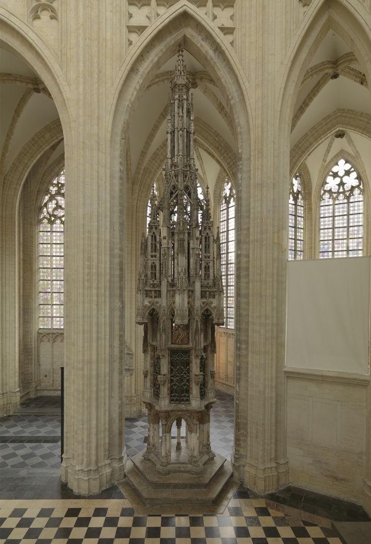 Mathieu de Layen, Sacramentstoren, ca 1450