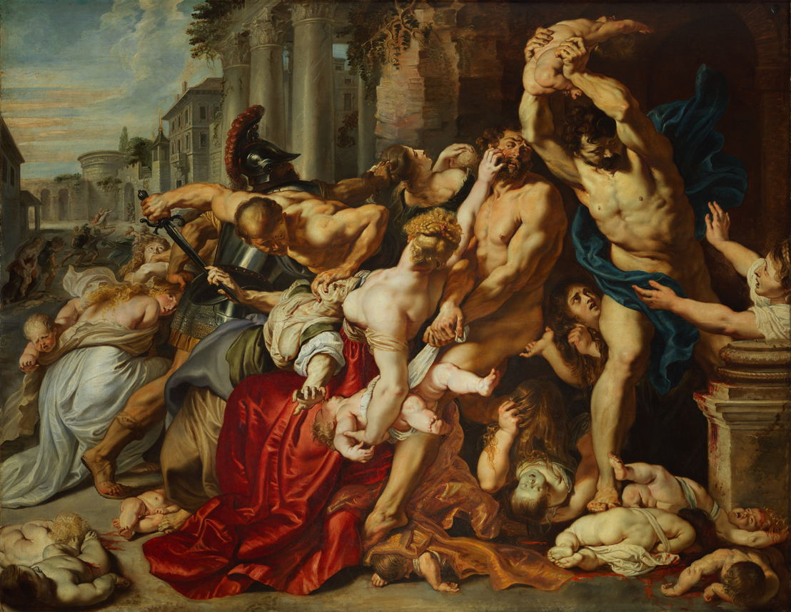 Peter Paul Rubens, The Massacre of the Innocents, The Thomson Collection at the Art Gallery of Ontario, (c) Art Gallery of Ontario