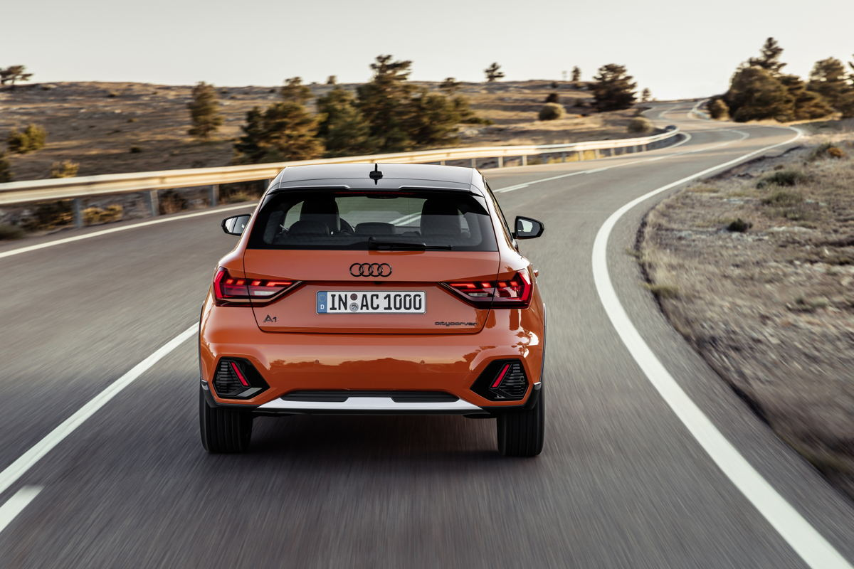Audi A1 Citycarver - arrière