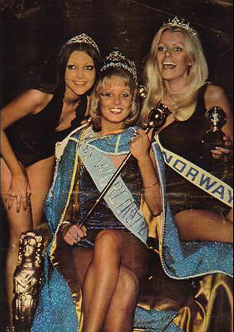 Miss World 1972 Belinda Green