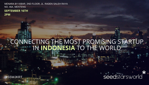 Seedstars World is Coming to Jakarta to Find the Most Promising Seed Stage Tech Startup in Indonesia