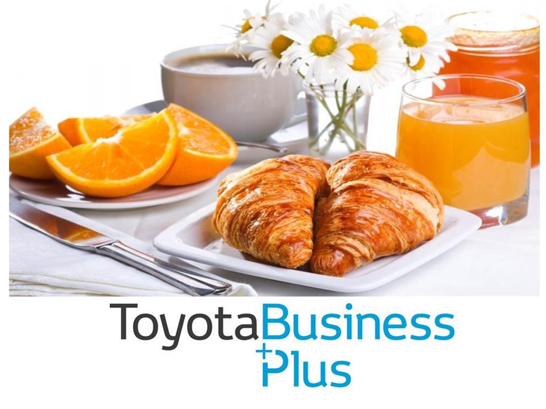 Toyota petit-déjeuner Fleet pendant le Salon Auto 2018