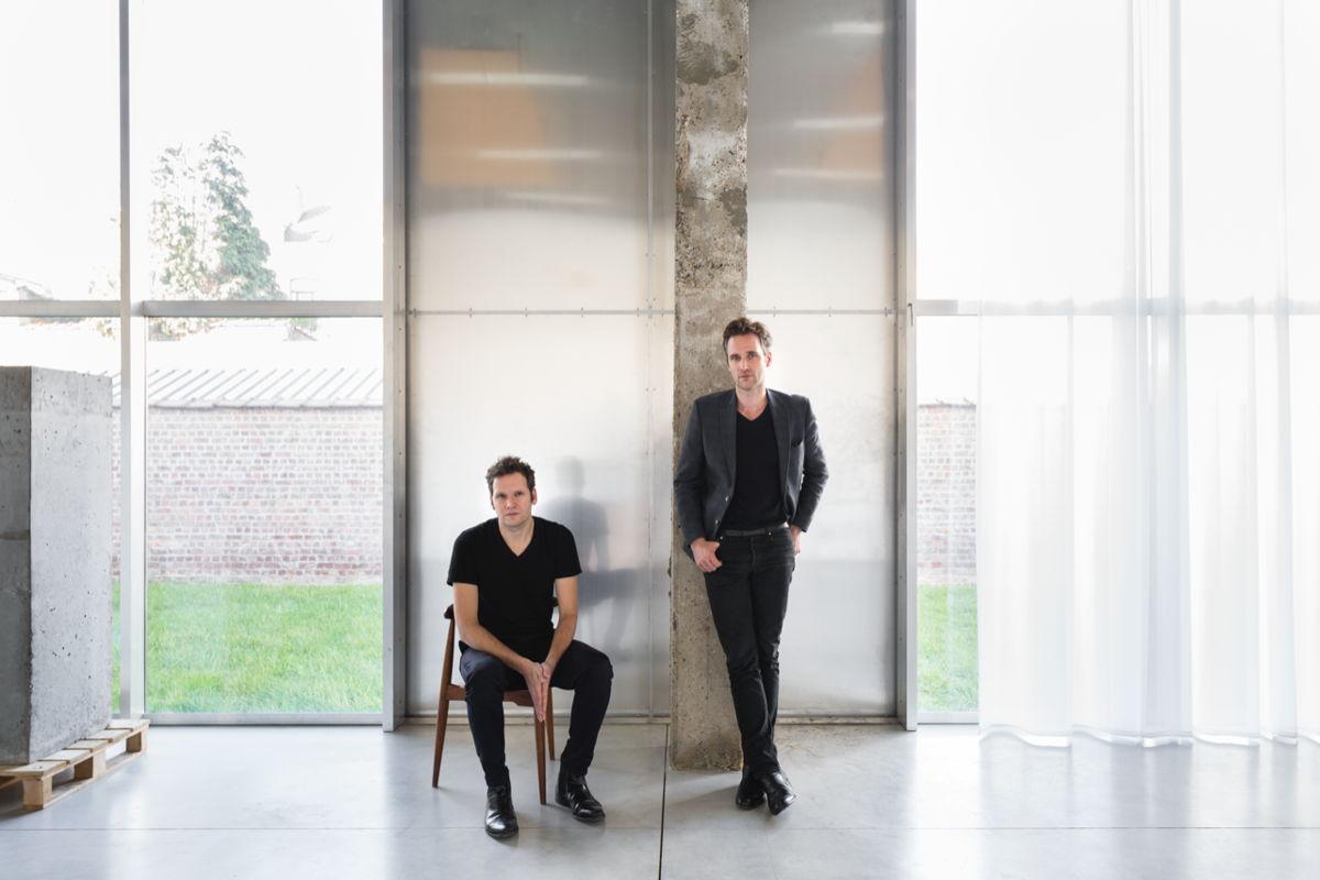 Kersten Geers en David Van Severen. Foto: Frederik Vercruysse / OFFICE KGDVS
