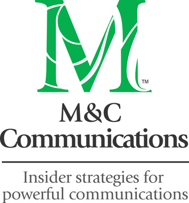 M&C Communications press room Logo