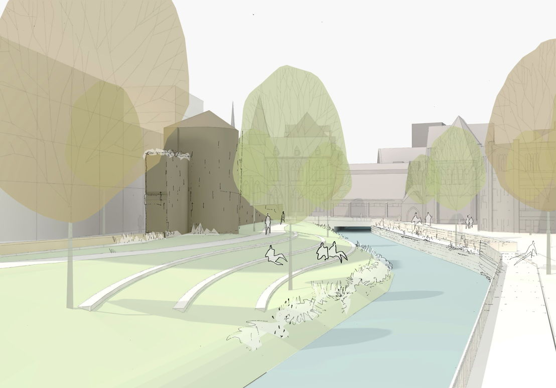 Oude stadsomwalling - toekomst