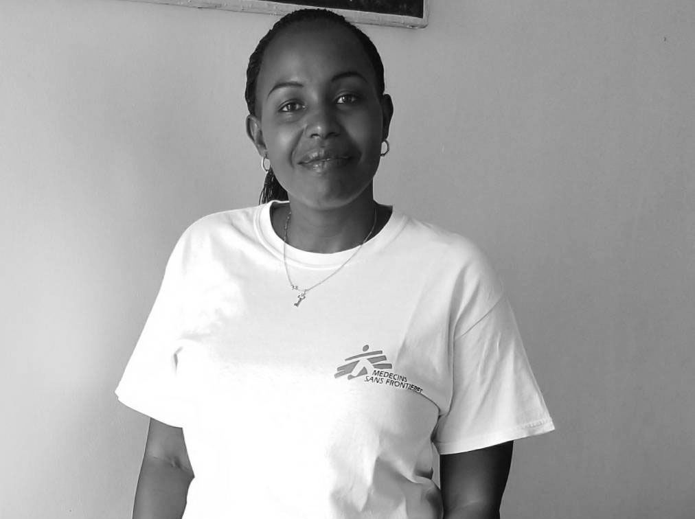 Claudia Kanyemera – MSF Finance Manager. Photographer: MSF