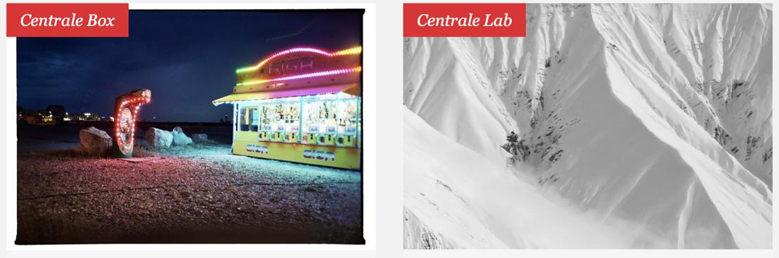 Max Kesteloot à la CENTRALE.box & Justine Bougerol à la CENTRALE.lab
