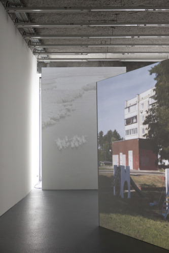 Dernières jours de l'expo de Ingel Vaikla au Beursschouwburg