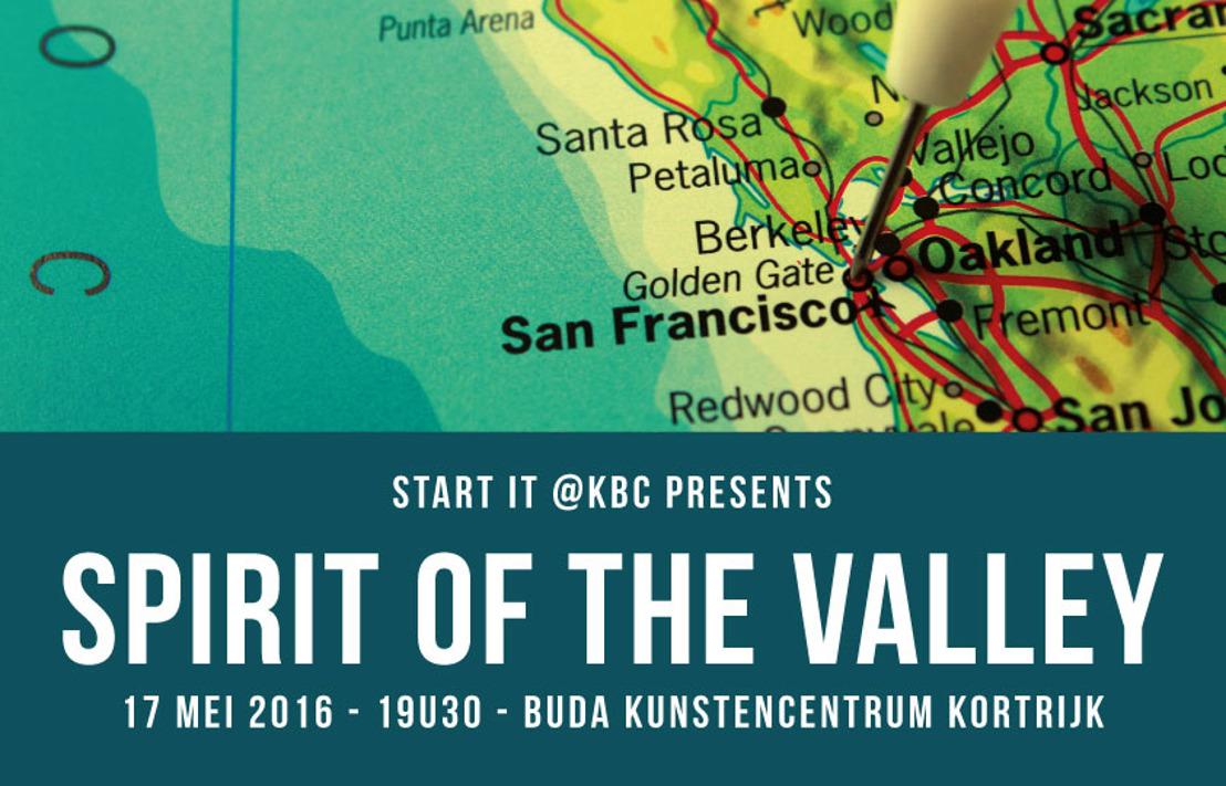 PERSUITNODIGING: The Spirit of the Valley Kortrijk met Peter Hinssen, Steven Van Belleghem en Harry Demey