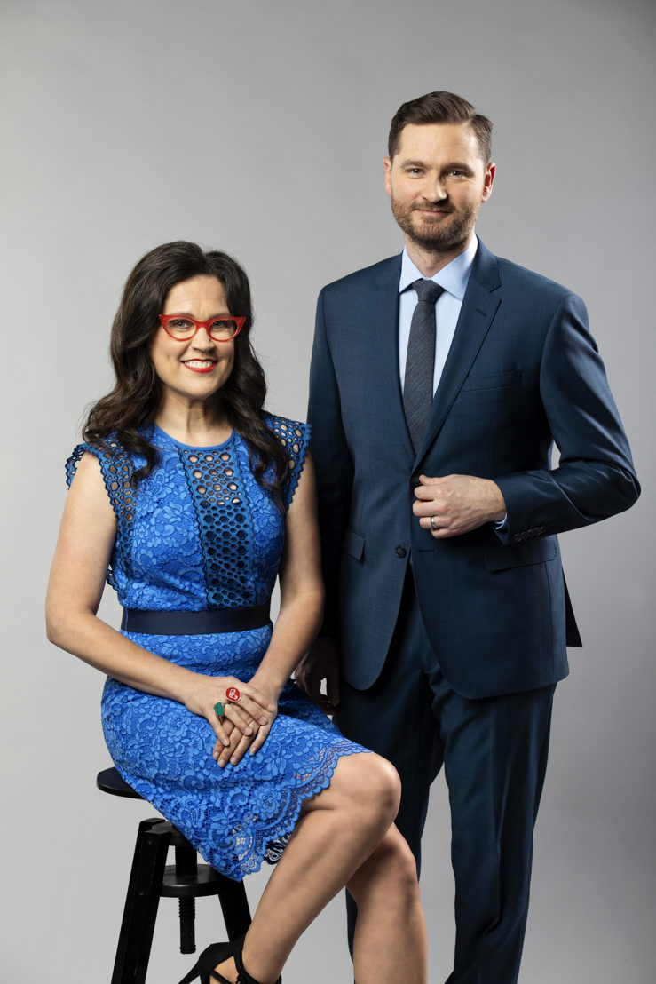 Tomorrow Tonight - Annabel Crabb and Charlie Pickering