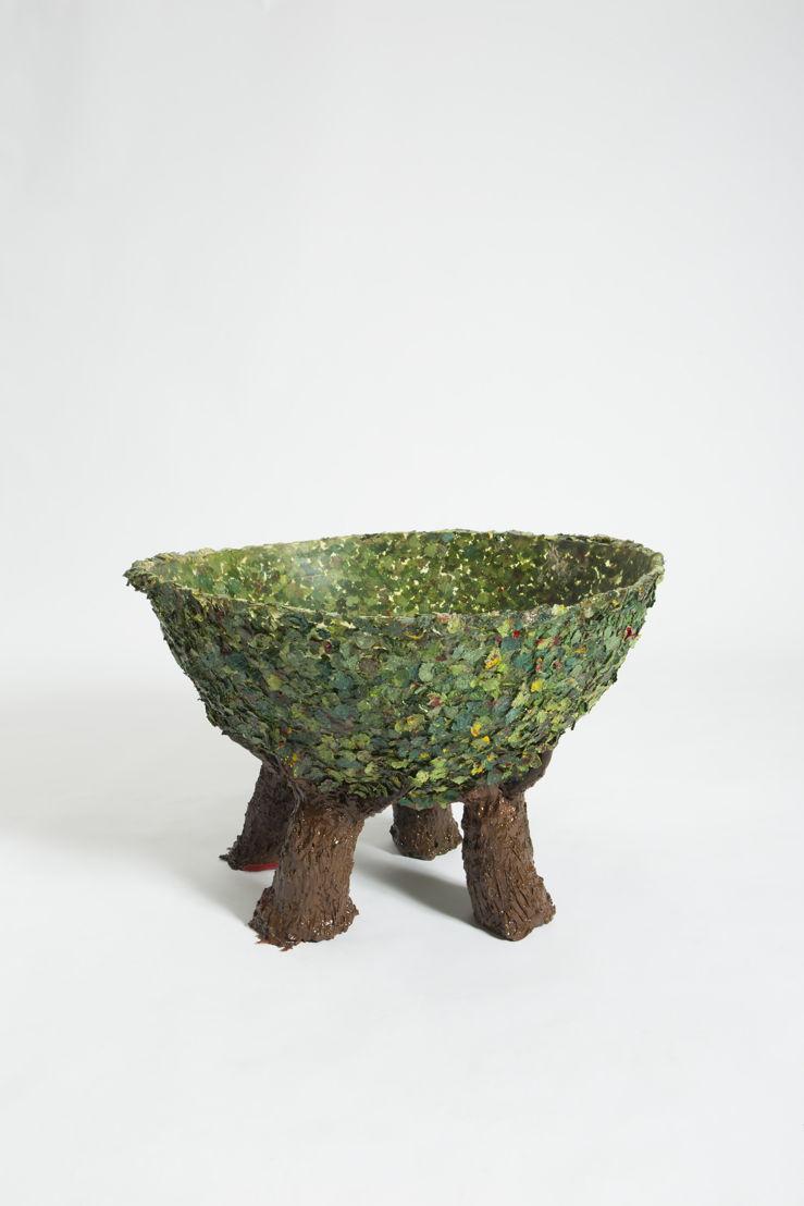 Gaetano Pesce: Tree Vase 3 at The Peninsula Chicago