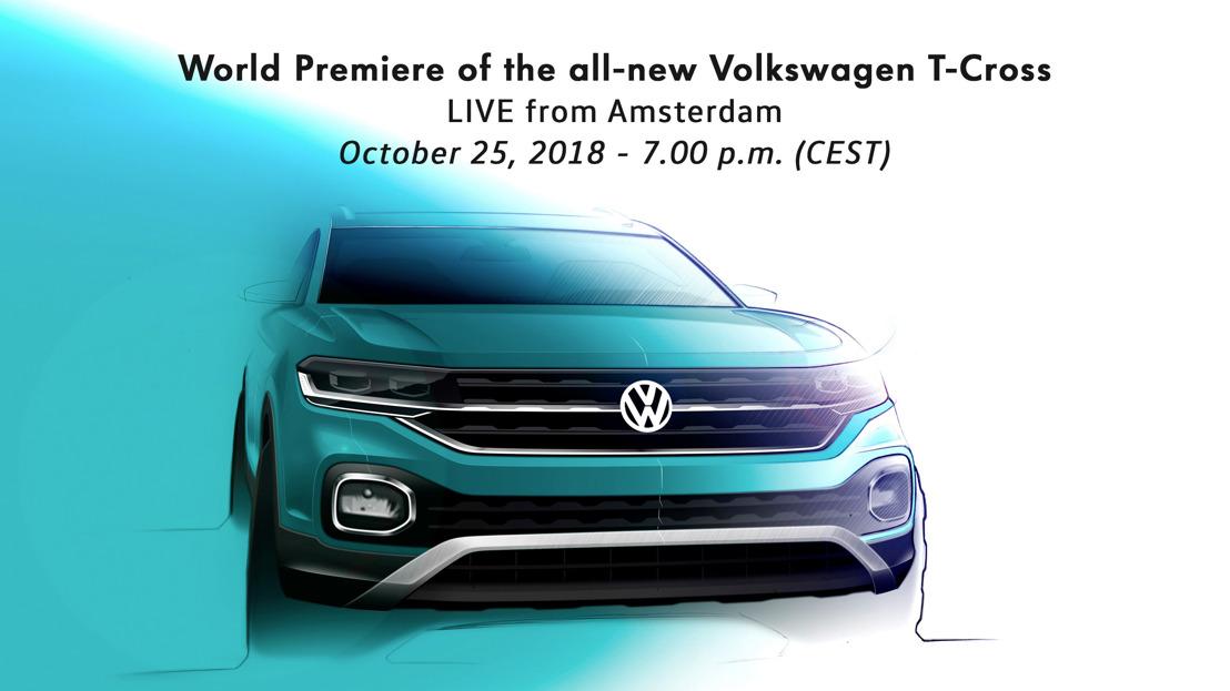 Estreno mundial de Volkswagen: Nuevo T-Cross