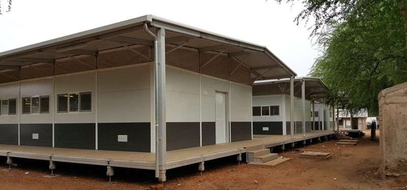 Modules of the new MSF structure fully assembled. © MSF