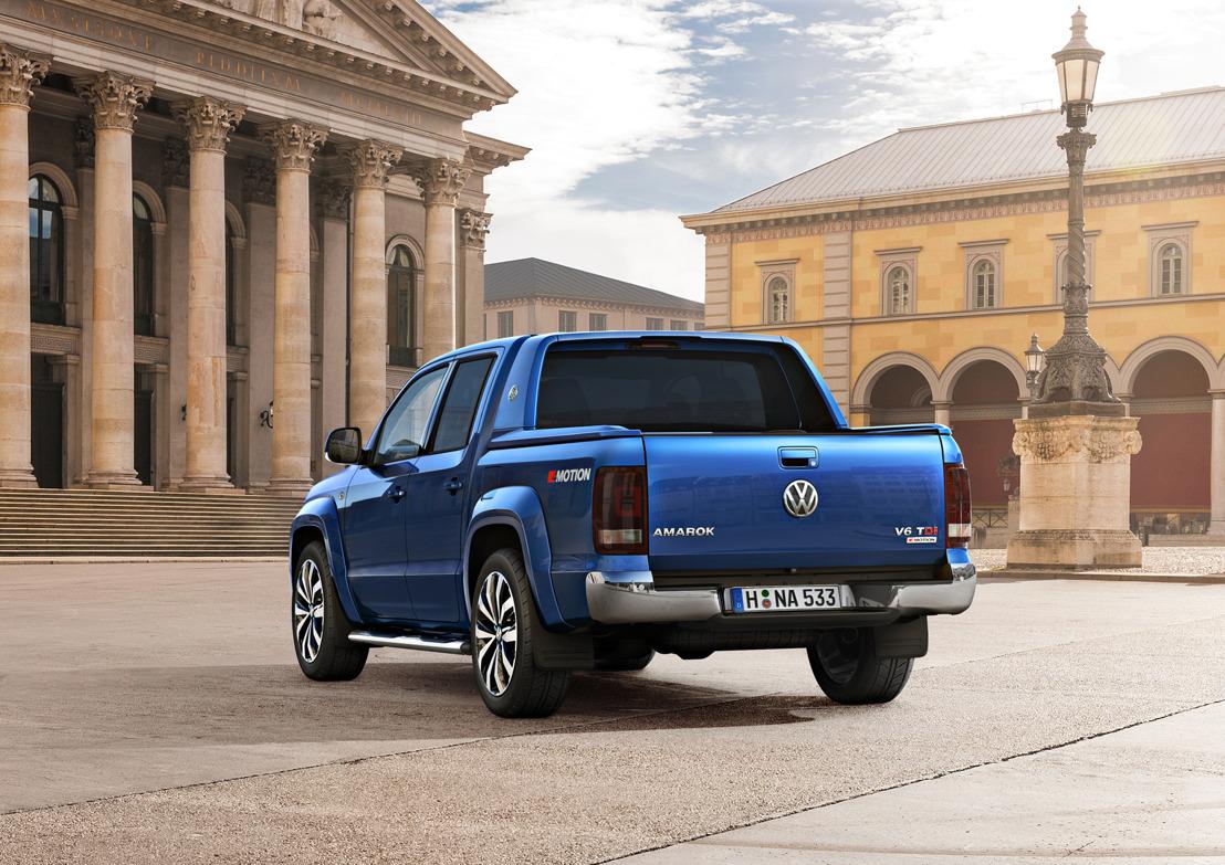 Volkswagen Amarok voortaan als krachtige zescilinder
