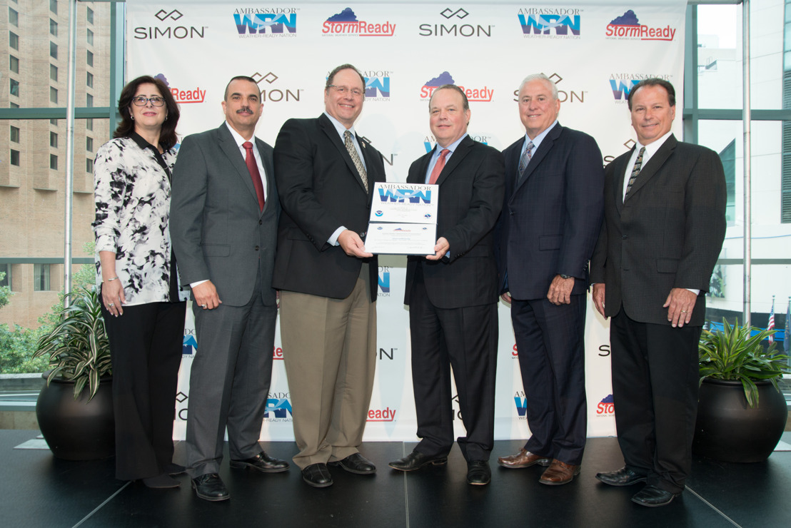 Atlanta-area Simon centers recognized as 'StormReady' by National Weather Service
