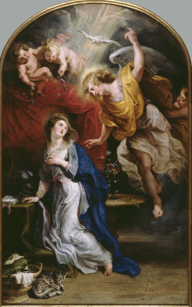 Barok Beroert, Annunciatie, Peter Paul Rubens (c) Rubenshuis Michel Wuyts & Louis De Peuter