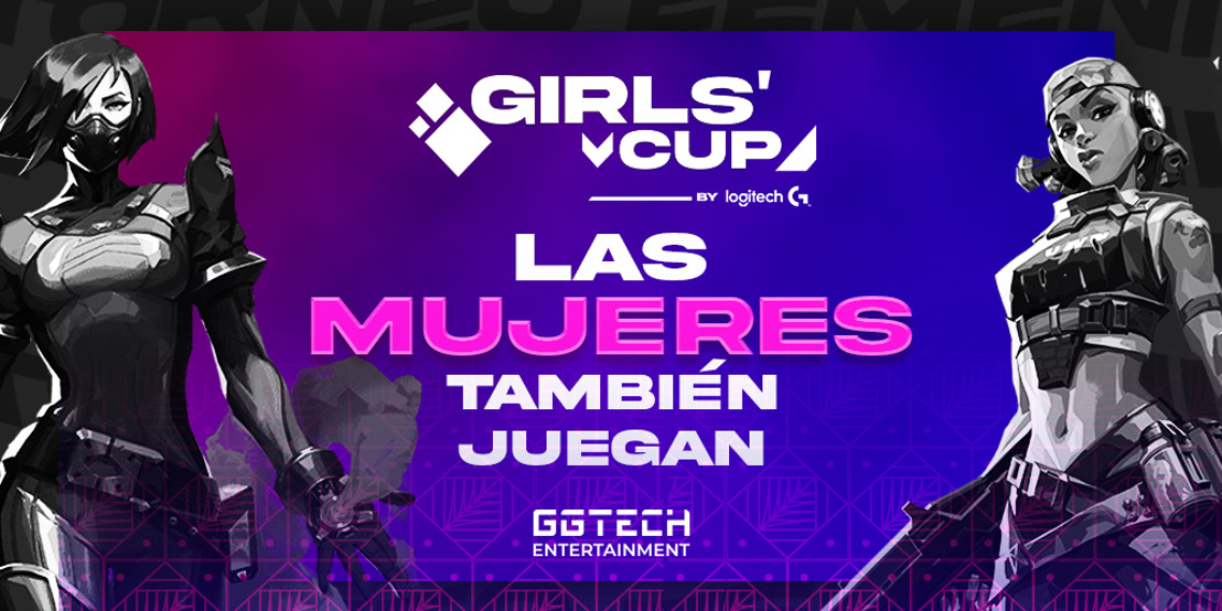 Logitech G y GGTech crean Girl's Cup, el primer torneo femenil de Valorant  en México