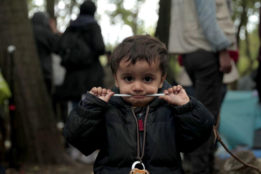 Kurdish Boy Dunkirk